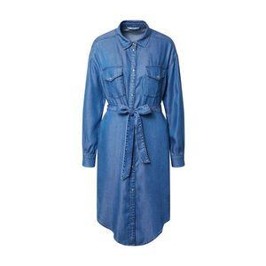 ONLY Rochie tip bluză denim albastru imagine