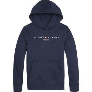 TOMMY HILFIGER Bluză de molton navy / alb imagine