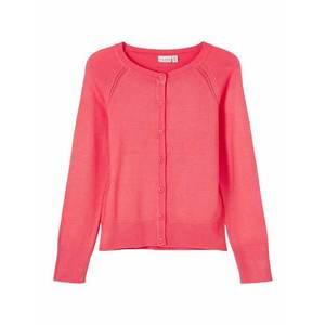 NAME IT Geacă tricotată 'Vioni' roze imagine