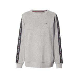 Tommy Hilfiger Underwear Bluză de molton gri amestecat / navy / alb / roșu imagine