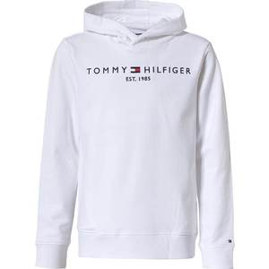 TOMMY HILFIGER Bluză de molton alb / navy imagine