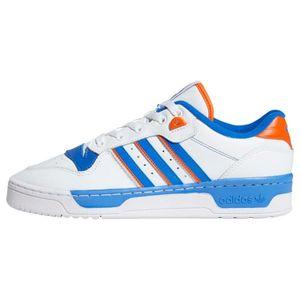 ADIDAS ORIGINALS Sneaker low alb / albastru / portocaliu imagine