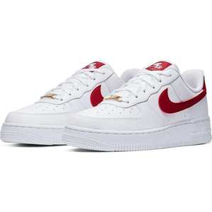 Nike Sportswear Sneaker low 'Air Force 1' alb / roșu imagine