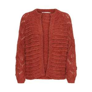 ONLY Geacă tricotată 'Vanessa' roșu ruginiu imagine