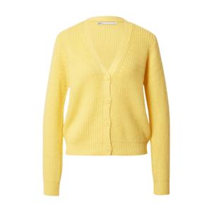 ONLY Geacă tricotată 'SOOKIE MELTON' galben imagine
