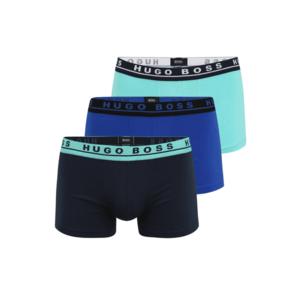 BOSS Boxeri navy / albastru royal / albastru neon imagine