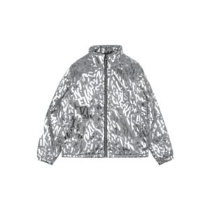 Calvin Klein Jeans Geacă de primăvară-toamnă argintiu / gri deschis imagine