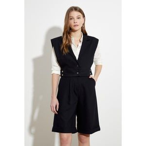 Trendyol Black Button Vest imagine