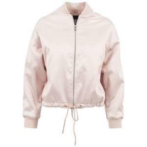 Urban Classics Geacă de primăvară-toamnă roz deschis imagine