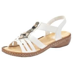 RIEKER Sandale cu baretă alb imagine