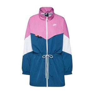 Nike Sportswear Geacă de primăvară-toamnă mov / alb / albastru imagine
