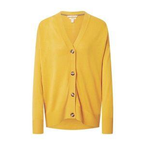 ESPRIT Geacă tricotată galben imagine