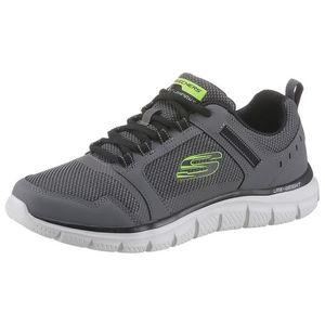 SKECHERS Sneaker low verde neon / gri / alb / negru imagine