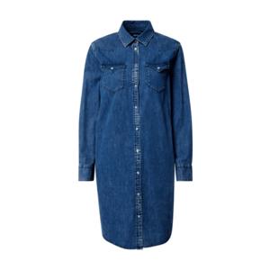 REPLAY Rochie tip bluză denim albastru imagine