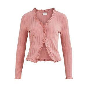 VILA Geacă tricotată 'TATTI' roz imagine