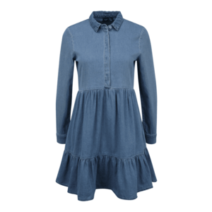 Vero Moda Petite Rochie tip bluză 'MARIA' denim albastru imagine