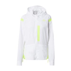 ADIDAS PERFORMANCE Geacă funcțională 'Marathon' alb natural / galben neon imagine