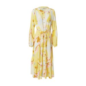 NÜMPH Rochie tip bluză 'Nucasey' galben / culori mixte imagine