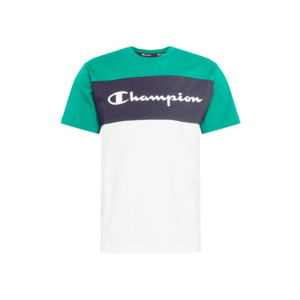 Champion Authentic Athletic Apparel Tricou alb / verde / navy imagine