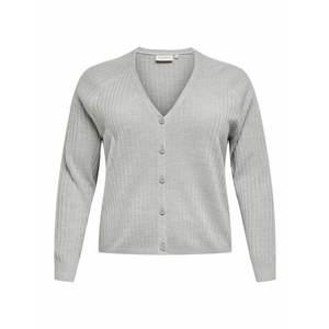 ONLY Carmakoma Geacă tricotată 'AMALIA' gri deschis imagine