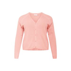 ONLY Carmakoma Geacă tricotată 'Amalia' roz imagine