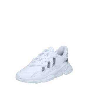 ADIDAS ORIGINALS Sneaker low 'OZWEEGO' alb / gri argintiu imagine