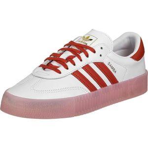 ADIDAS ORIGINALS Sneaker low 'Sambarose' alb / roșu / auriu imagine