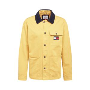 Tommy Jeans Geacă de primăvară-toamnă galben muștar / albastru marin imagine