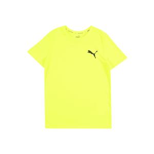 PUMA Tricou galben neon imagine