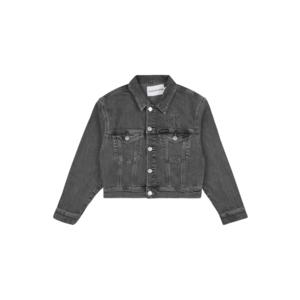 Calvin Klein Jeans Geacă de primăvară-toamnă denim gri imagine