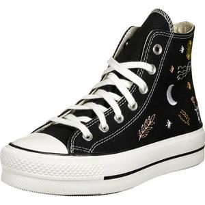 CONVERSE Sneaker înalt 'CHUCK TAYLOR ALL STAR' negru / offwhite / galben / roz vechi / roșu deschis imagine