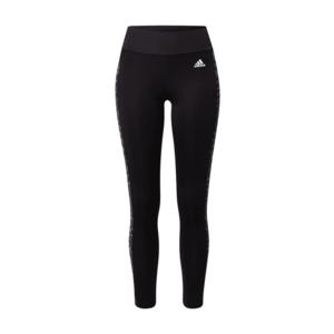 ADIDAS PERFORMANCE Pantaloni sport negru / gri închis / alb / gri imagine