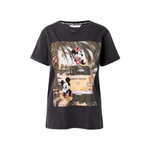 Frogbox Tricou 'Mickey and Minnie' culori mixte / negru / roșu / galben deschis imagine