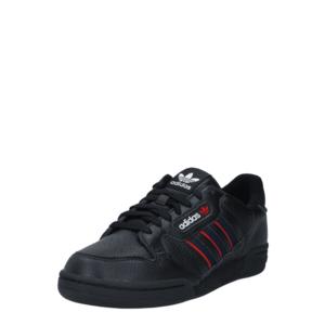ADIDAS ORIGINALS Sneaker low 'Continental 80' negru / alb / roșu imagine