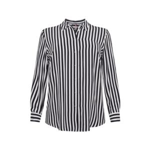Tommy Hilfiger Curve Bluză albastru închis / alb imagine