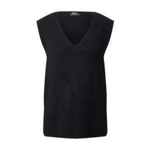 ONLY Vestă tricotată 'Cora' negru imagine