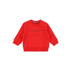 TOMMY HILFIGER Bluză de molton roșu / navy / alb imagine