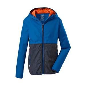KILLTEC Geacă outdoor 'Lyse' albastru royal / albastru noapte / portocaliu imagine