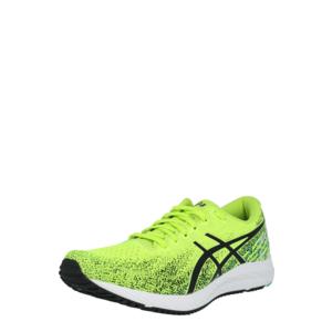 ASICS Sneaker de alergat verde neon / negru imagine
