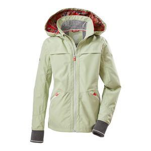 KILLTEC Geacă outdoor 'Rur' verde pastel / culori mixte imagine