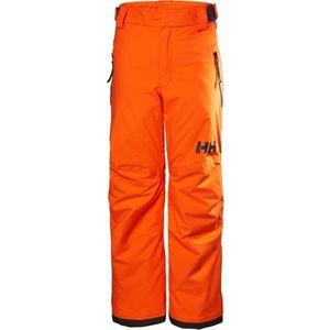 Helly Hansen JR LEGENDARY PANT portocaliu 10 - Pantaloni ski copii imagine