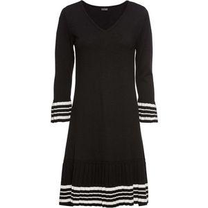 Rochie tricotată cu poală plisată imagine