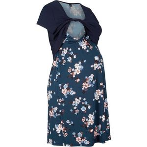 Rochie florală de gravide/alăptare imagine