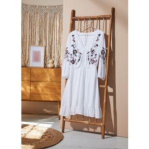 Rochie-tunică cu broderie imagine
