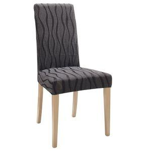 Husă scaun cu dungi ondulate imagine