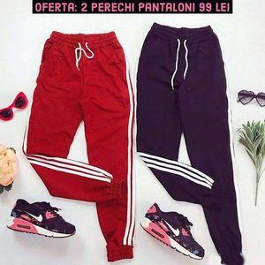 Oferta: 2 Perechi de Pantaloni casual doar 99 RON! imagine