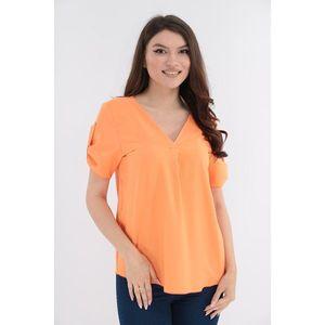 Bluza uni orange imagine