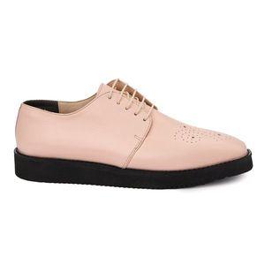 Pantofi Dama Casual Din Piele Naturala cu talpa usoara 1894 imagine