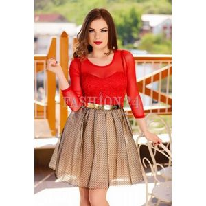 Rochie Baby Doll Red Passion imagine