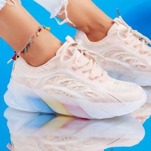 Adidasi Dama Luca Roz #6409M imagine